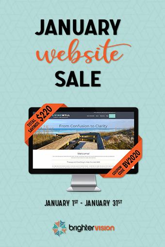 Brighter Vision January Website Sale